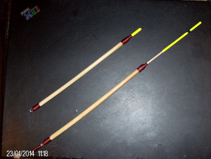 Quick and easy floats for carp float fishing ontario for Fishing floats types
