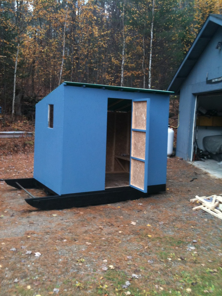great 8x5 ice hut for sale buy sell trade ontario
