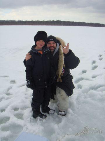 Brayan Ice Fishing 2014 2