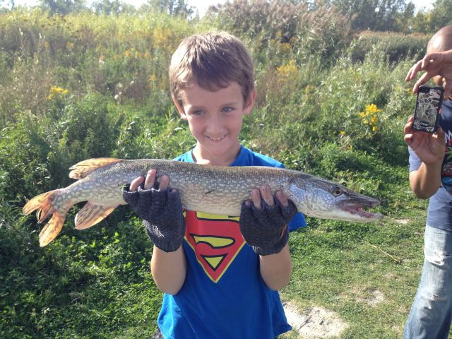 First pike!!
