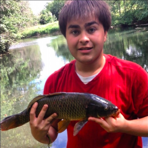 My second Carp caught at Brant Park