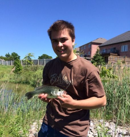 PB bass out of a secret retention pond