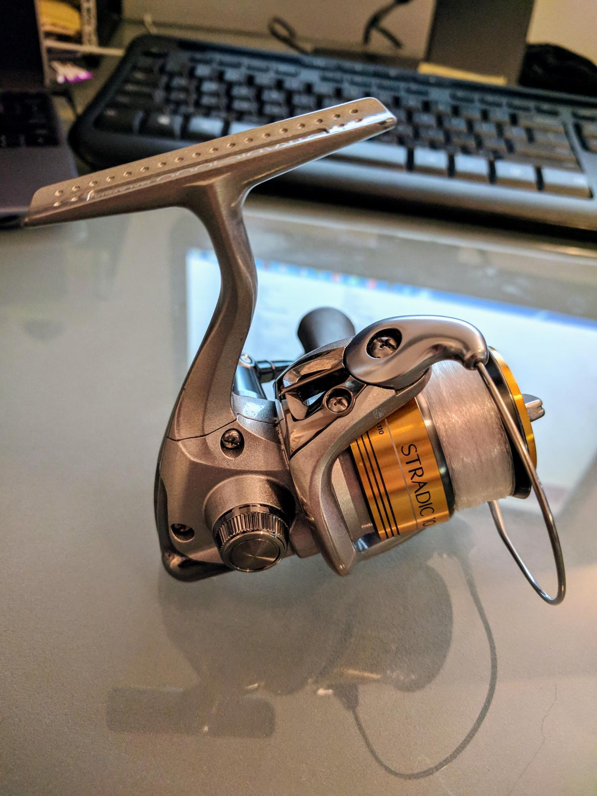 Shimano Stradic 1000fi Spinning Reel For Sale Buy Sell Trade Ontario Fishing Forums